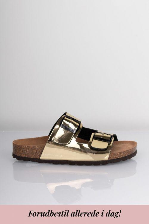 Lykke by Lykke Sandaler Happy Bio sandal Gold Metallic Front
