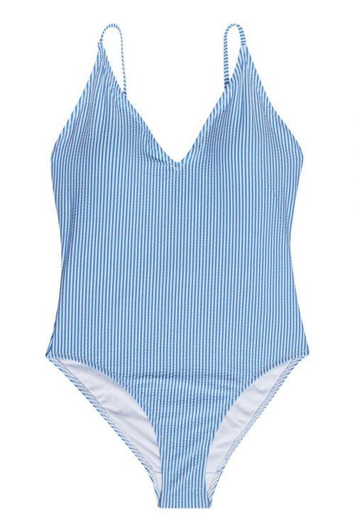 Gestuz - Badedragt - MyoGZ Swimsuit - Blue stripes