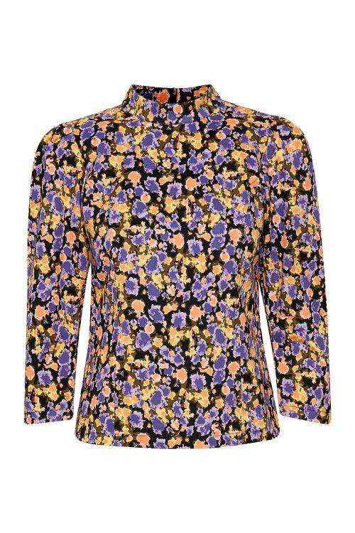 Gestuz Bluse Camea GZ Blouse Yellow Splash Front