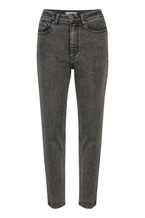 Gestuz Jeans Astrid GZ HW Slim Jeans Vintage Grey Front