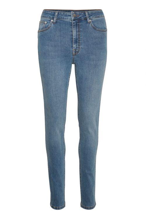 Gestuz - Jeans - Emily HW Skinny jeans - L.A. Blue