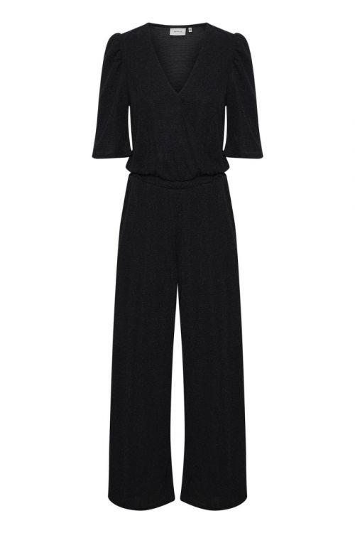 Gestuz - Jumpsuit - MeifenGZ Jumpsuit - Black