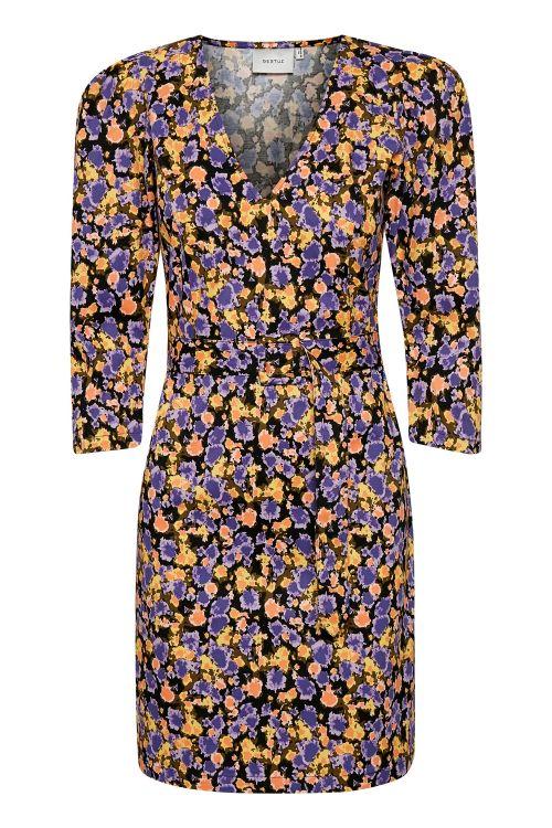 Gestuz Kjole Camea GZ Short Dress Yellow Splash Front