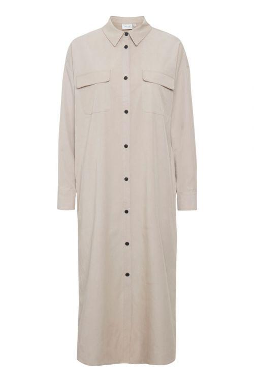 Gestuz - Kjole - Dosia GZ OZ Shirt Dress - Pure Cashmere