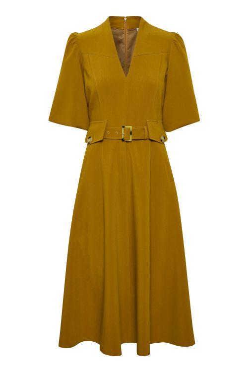 Gestuz Kjole Lynne Dress Tapenade Front