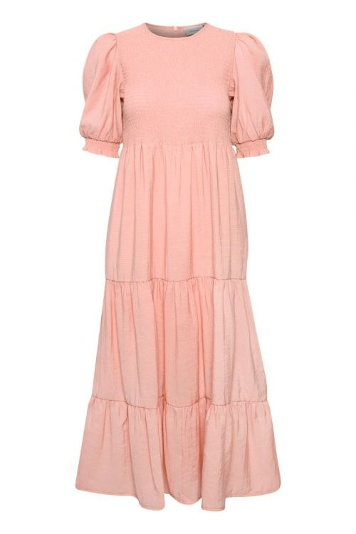 Gestuz Kjole Mazzi SS Dress Silver Pink Front