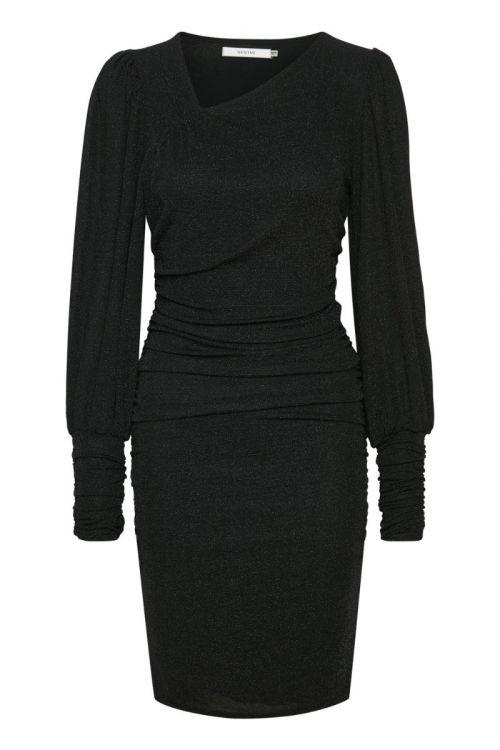 Gestuz - Kjole - MeifenGZ Short Dress - Black