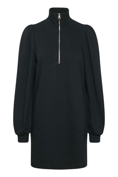 Gestuz Kjole Nankita Zipper Dress Black Front