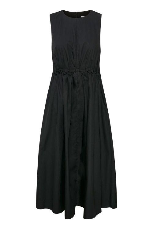 Gestuz Kjole Sori SL Dress Black Front