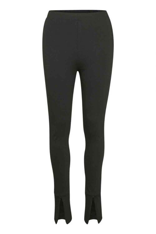 Gestuz - Leggings - Bjorg HW Leggings - Black