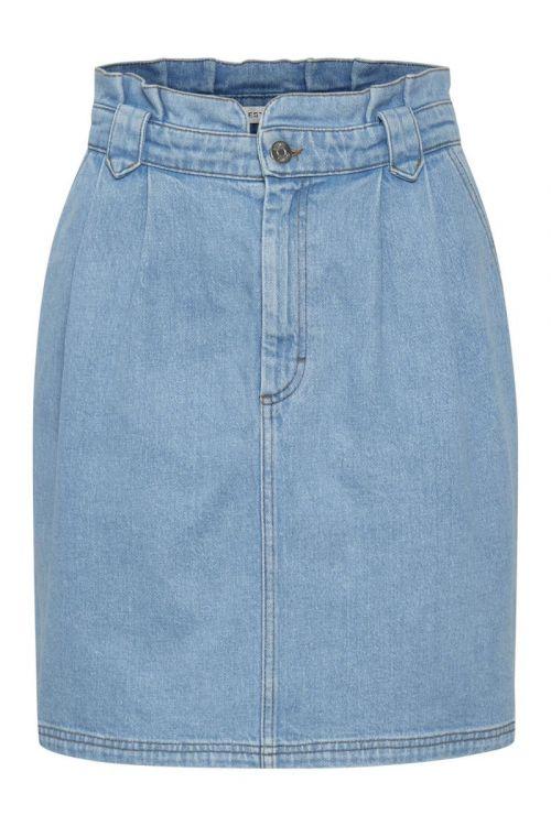 Gestuz - Nederdel - ElmaGZ HW Skirt Light - blue