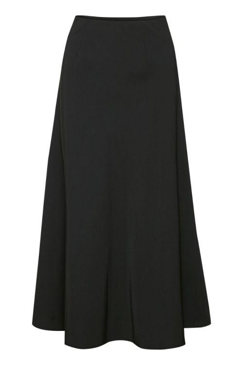 Gestuz - Nederdel - Sigrid HW Skirt - Black