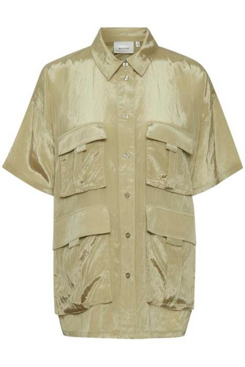Gestuz - Skjorte - Cleo GZ OZ shirt - Elm