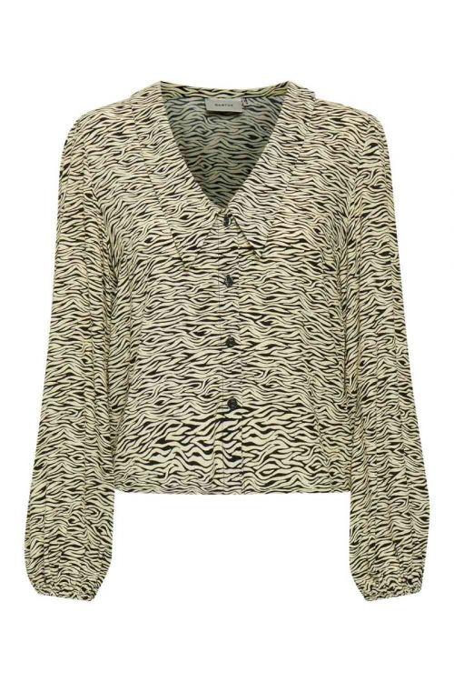 Gestuz - Skjorte - Eileen Shirt - Yellow Wave