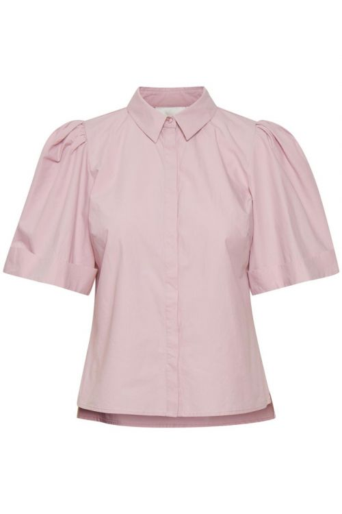 Gestuz - Skjorte - Halio SS Shirt - Fragrant Lilac