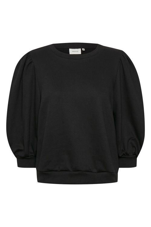 Gestuz Sweat Nankita Sweatshirt Black Front