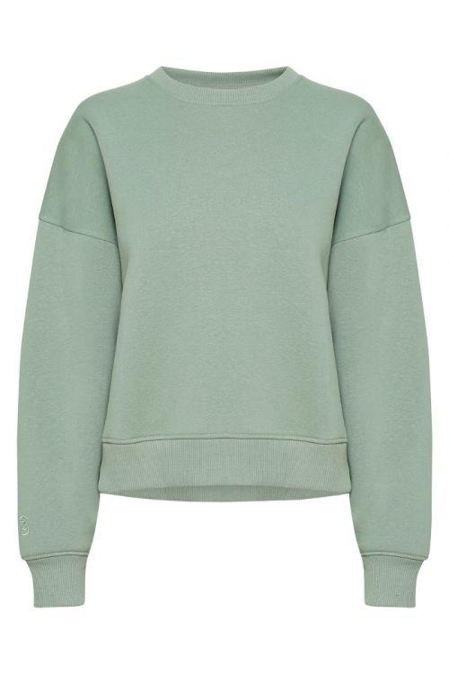 Gestuz - Sweatshirt - RubiGZ Sweatshirt - Slate Gray
