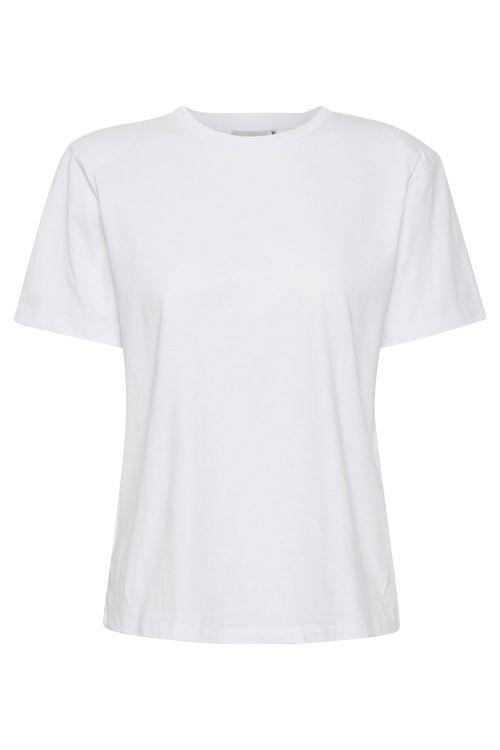 Gestuz T-shirt Jory Tee Bright White Front