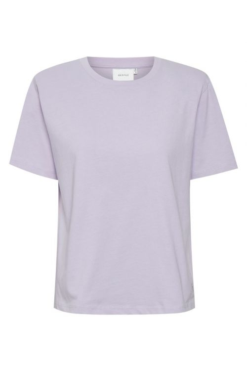 Gestuz - T-shirt - Jory Tee - Pastel Lilac