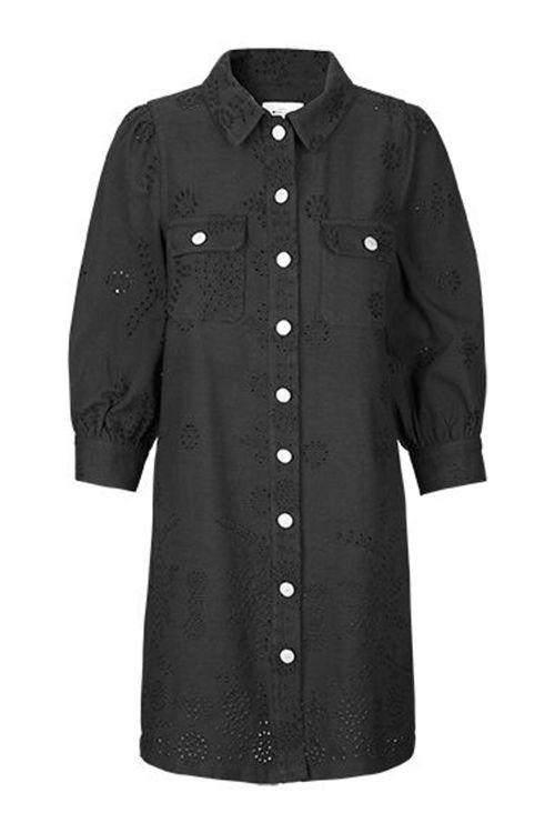 Global Funk Kjole Marison Dress Black Front