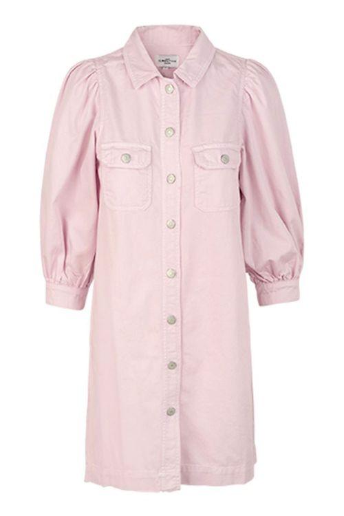 Global Funk Kjole Patsy Dress Pink Dust Front