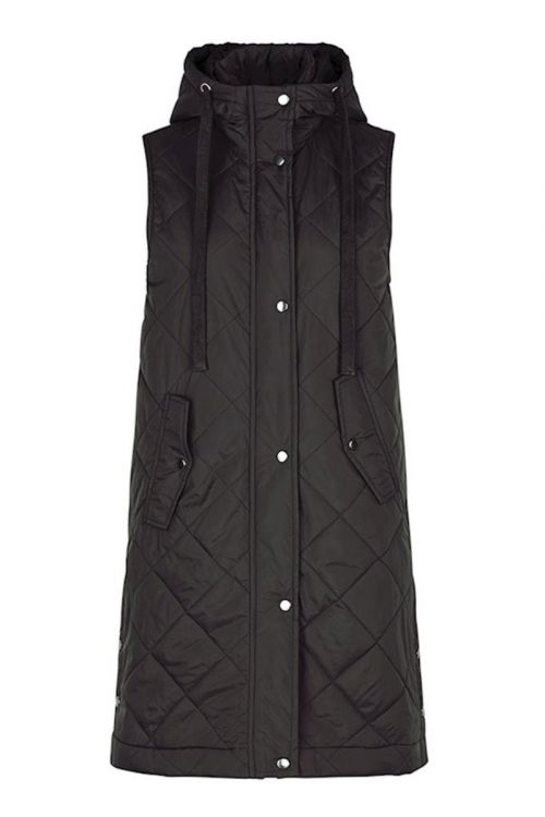 Global Funk Vest Jace Black Front