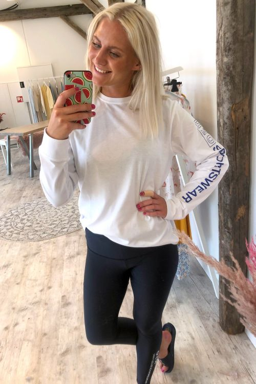 H2O Bluse Als Tee LS White Hover
