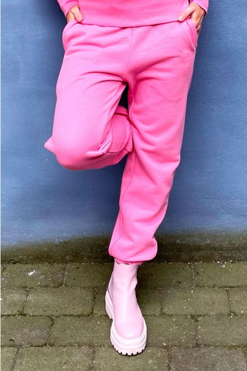 H2O  Bukser  Couch Sweat Pants  Soft Pink Front
