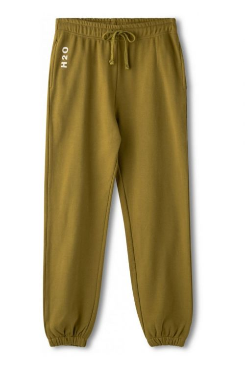 H2O Bukser Lolland Sweat Pant Army Avocado Front