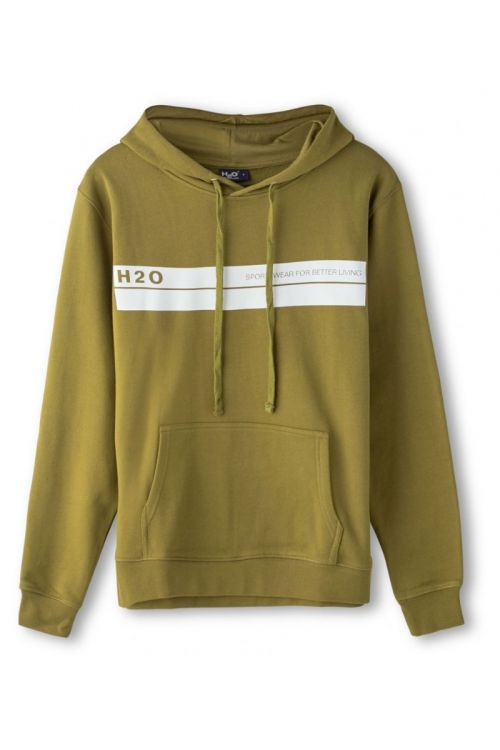 H2O Hoodie Mandø Hooded Sweat Army Avocado Front