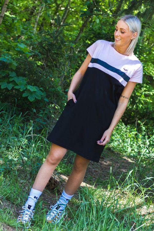 H2O Kjole Cavan Dress Rose Water/Black Hover