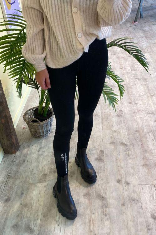 H2O - Leggings - Kerteminde Woman Lykke Tights - Black