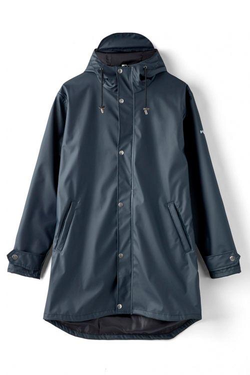 H2O Regnjakke Livø Rain Jacket Black Front