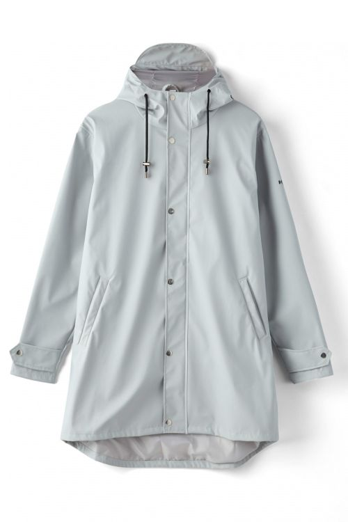 H2O Regnjakke Livø Rain Jacket Light Grey Front