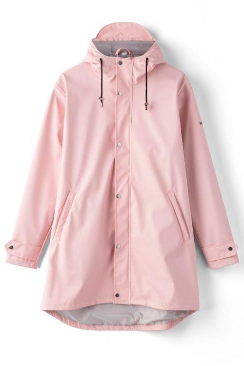 H2O Regnjakke Livø Rain Jacket Light Pink Front