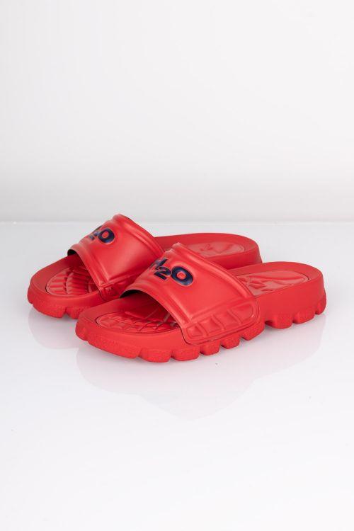 H2o Sandal Trek Sandal Red Blue Front