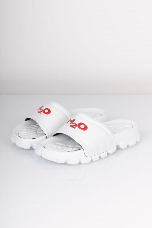 H2o Sandal Trek White Red Front