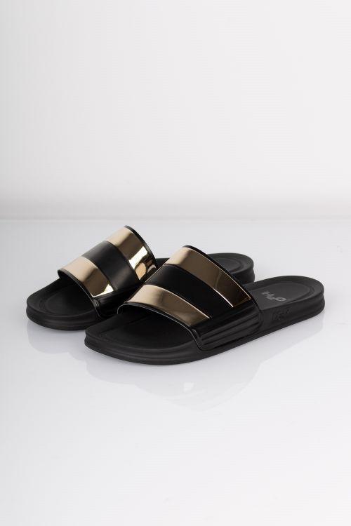 H2O Sandaler New Icon Sandal Black/Gold Front