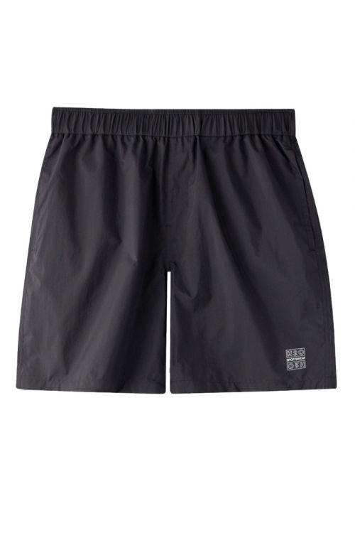 H2O Shorts Omø Tech Shorts Black Front