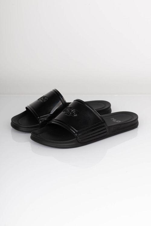 H2O Sko Copenhagen Gloss Sandal Black Front