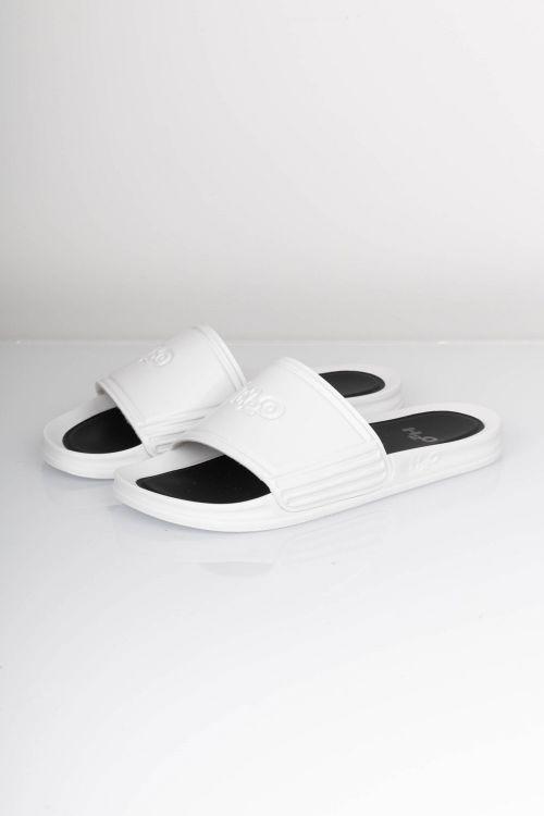 H2O Sko Copenhagen Gloss Sandal White Front