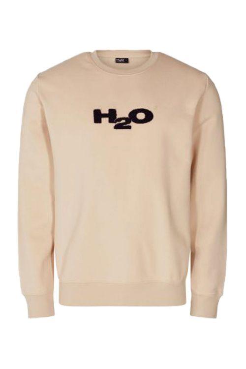 H2O - Sweat - Alban Legacy Sweat O-neck - Sand