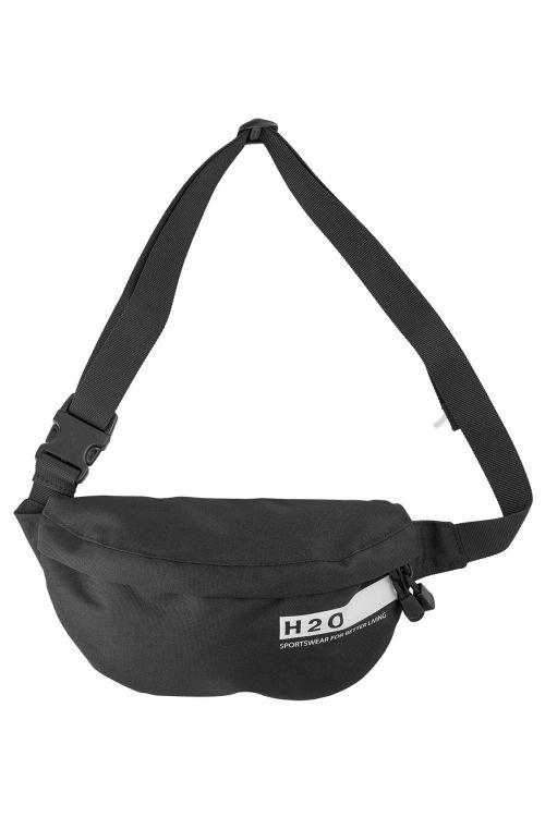H2O Taske Langeland Waist Bag Black Front
