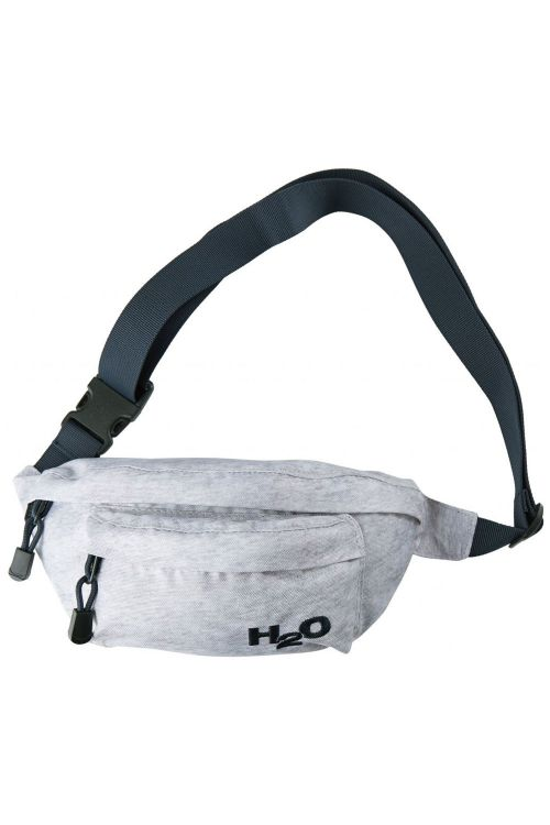 H2O Taske Waist Bag Light Grey Melange Front