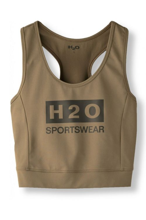 H2O Top Lyø Woman Top Army Front