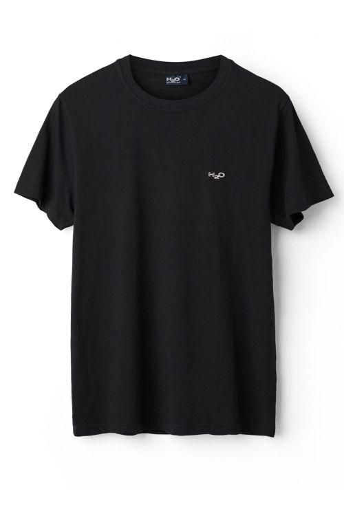 H2O T-shirt Base Woman Tee Black Front