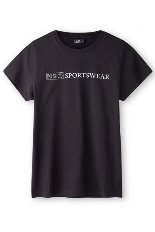 H2O T-Shirt Birkholm Woman Tee Black Front
