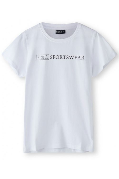 H2O T-Shirt Birkholm Woman Tee White Front