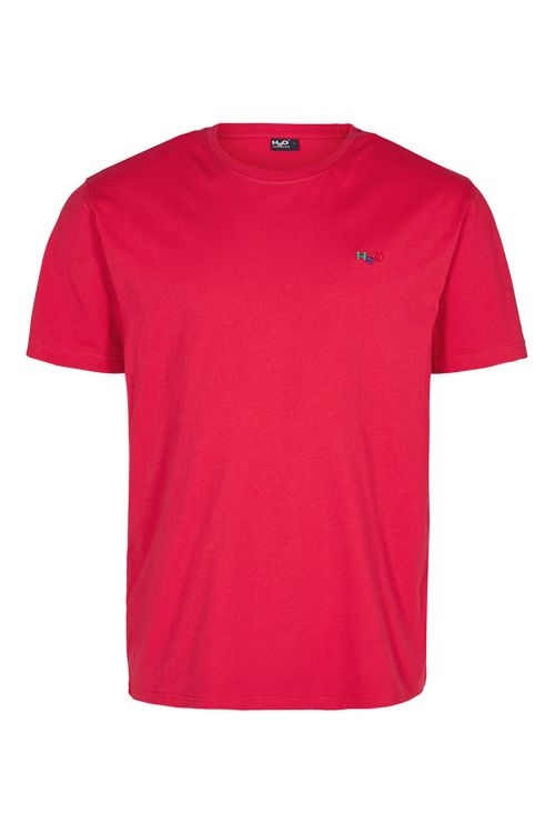 H2O T-shirt Lind Tee Red Front