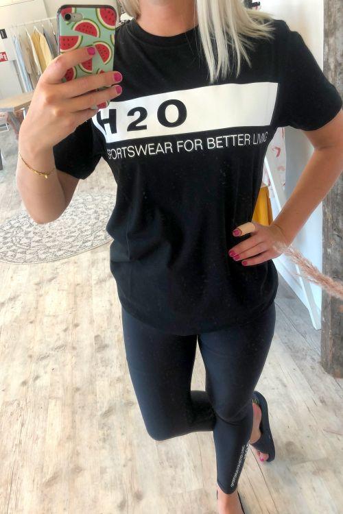 H2O T-shirt Samsø Tee Black Hover